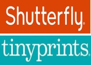 Shutterfly and tinyprints logos