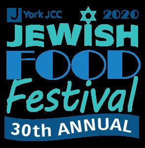 2020 York JCC Jewish Food Festival logo